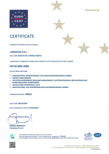 CERTIFICATION-ISO-90012008
